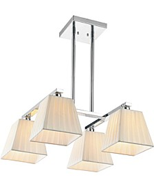CLOSEOUT! Tilly 4 Light Chandelier