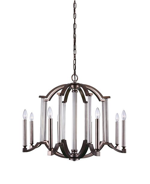 CWI Lighting CLOSEOUT! Marlia 8 Light Chandelier