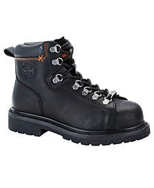 Harley-Davidson Women's Gabby Steel Toe Lug Sole Work Boots