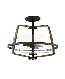 Designers Fountain Ryder 2 Light Semi-Flushmount