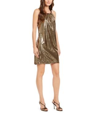 Trina Trina Turk JuJu Sequined Shift Dress