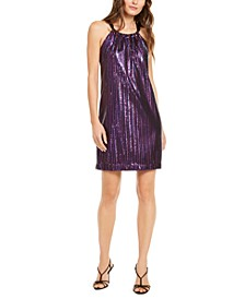JuJu Sequined Shift Dress