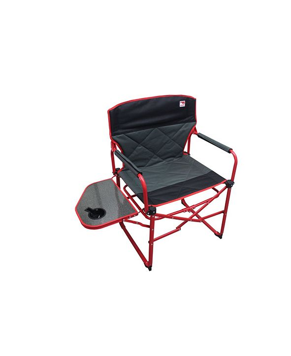 Outdoor Spectator Heavy Duty Ultra Portable Folding Director Padded Camp Chair