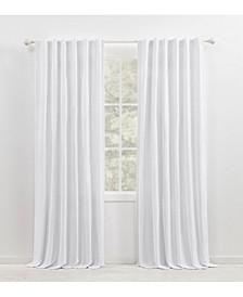 Velvety Room Darkening Solid Tab/Rod Pocket Curtain Panel Collection
