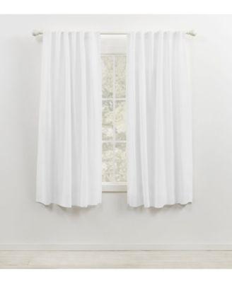 """Leanne Back Tab/Rod Pocket Curtain Panel, 50"""" x 63"""""""