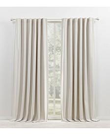 "Sallie Blackout Tab/Rod Pocket Curtain Panel, 54"" x 84"""
