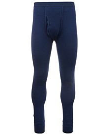 Men's Big & Tall Thermal Pants, Created For Macy's