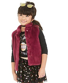 Toddler Girls Faux Fur Vest, Created For Macy's