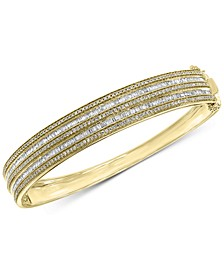 EFFY® Diamond Bangle Bracelet (1-1/2 ct. t.w.) in 14k Gold