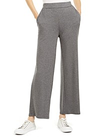 Wide-Leg Ankle Pants, Regular & Petite