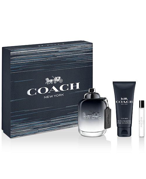COACH Men's 3-Pc. COACH FOR MEN Eau de Toilette Gift Set