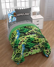 Minecraft Twin 6-Pc. Comforter Set