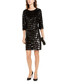 INC Sequin Sheath Dress, Created For Macy's