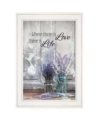 """Where There is Love by Lori Deiter, Ready to hang Framed Print, White Frame, 15"""" x 21"""""""
