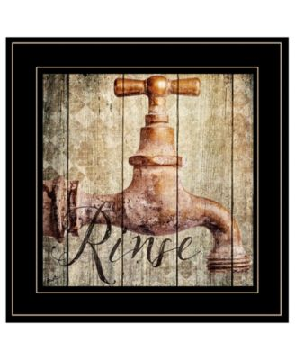 """Rinse by Misty Michelle, Ready to hang Framed Print, Black Frame, 15"""" x 15"""""""