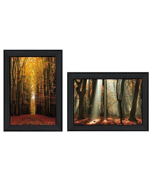 "Trendy Decor 4U Trendy Decor 4U Highway to Heaven Collection By Martin Podt, Printed Wall Art, Ready to hang, Black Frame, 36"" x 21"""