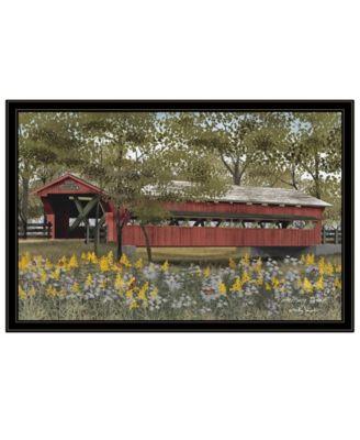 "Pottersburg Bridge by Billy Jacobs, Ready to hang Framed Print, Black Frame, 38"" x 26"""