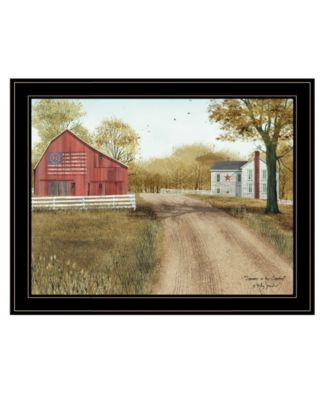 """Summer in the Country by Billy Jacobs, Ready to hang Framed Print, Black Frame, 27"""" x 21"""""""