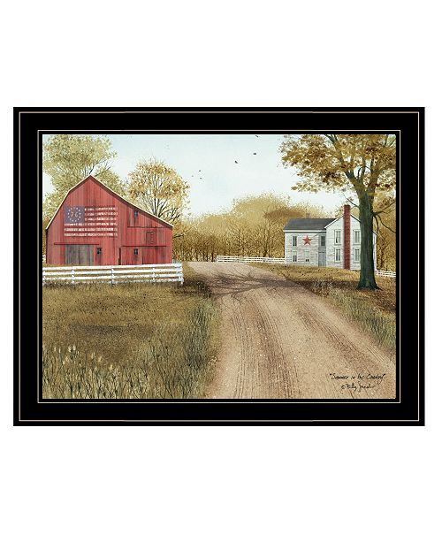 "Trendy Decor 4U Trendy Decor 4U Summer in the Country by Billy Jacobs, Ready to hang Framed Print, Black Frame, 27"" x 21"""