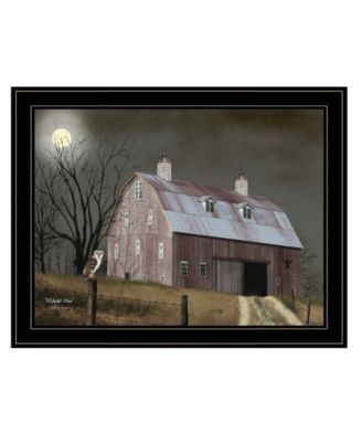 """Midnight Moon by Billy Jacobs, Ready to hang Framed Print, Black Frame, 27"""" x 21"""""""