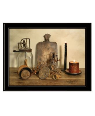"""Sweet Cream Butter by Billy Jacobs, Ready to hang Framed Print, Black Frame, 27"""" x 21"""""""