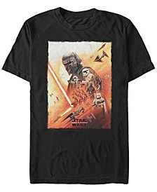 Men's Rise of Skywalker Kylo Ren Poster T-shirt