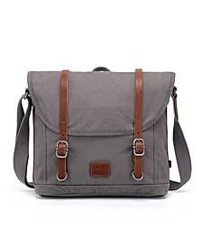 Forest Canvas Messenger Bag