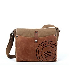 Super Horse Canvas Messenger Bag