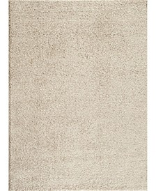 Home Bahia Shag Bas2700 Cream Area Rug Collection