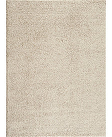 Main Street Rugs Home Bahia Shag Bas2700 Cream Area Rug Collection