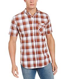 Men's Swill Up Check Short Sleeve Shirt