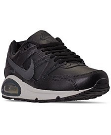 Men's Air Max Command Leather Casual Sneakers from Finish Line
