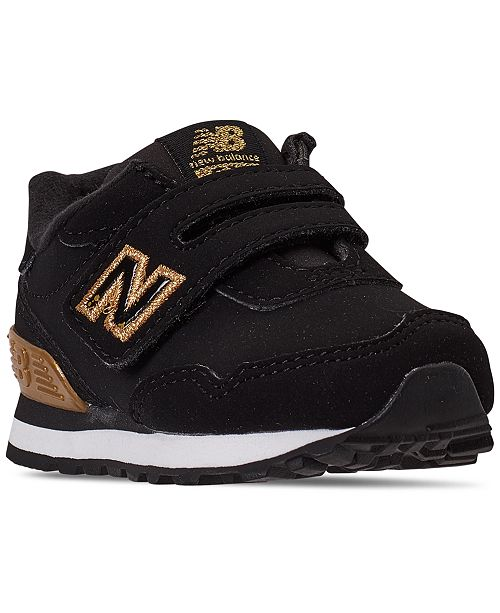 New Balance Toddler Girls 515 V1 Stay-Put Closure Casual Sneakers from Finish Line
