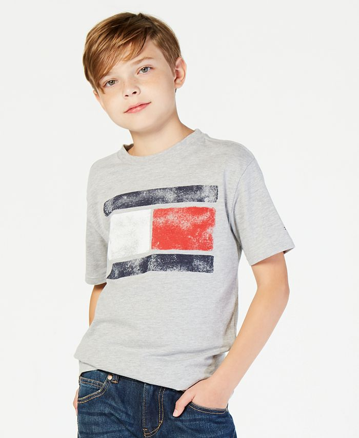 Tommy Hilfiger - Boys' Tommy Flag Graphic-Print T-Shirt