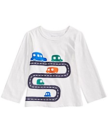 Baby Boys Cars-Print Cotton T-Shirt, Created for Macy's