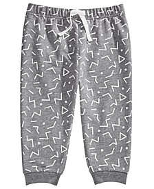 Toddler Boys Geo-Print Joggers, Created For Macy's