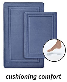 SpeedDry® 2-Pc. Memory Foam Bath Mat Set