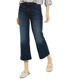 Cropped Wide-Leg Jeans