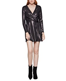 Glossy Stretch Mini Dress