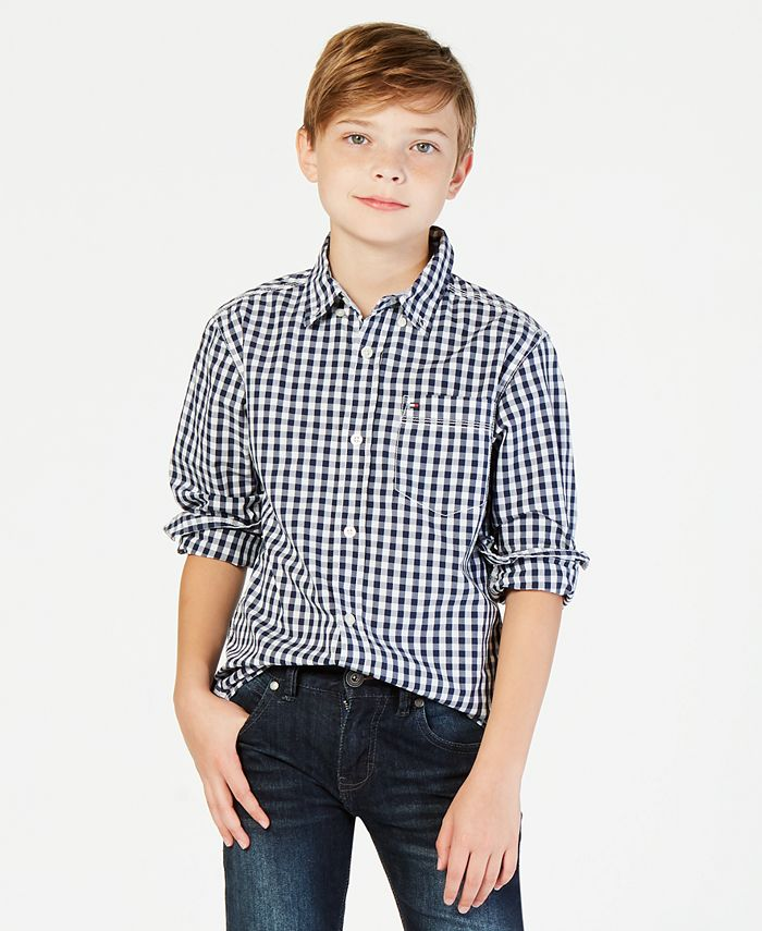 Tommy Hilfiger - Boys' Baxter Gingham Shirt