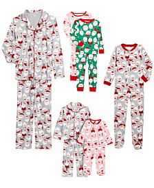 Santa Family Pajamas Collection