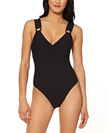 Shining Star O-Ring One-Piece Swimsuit