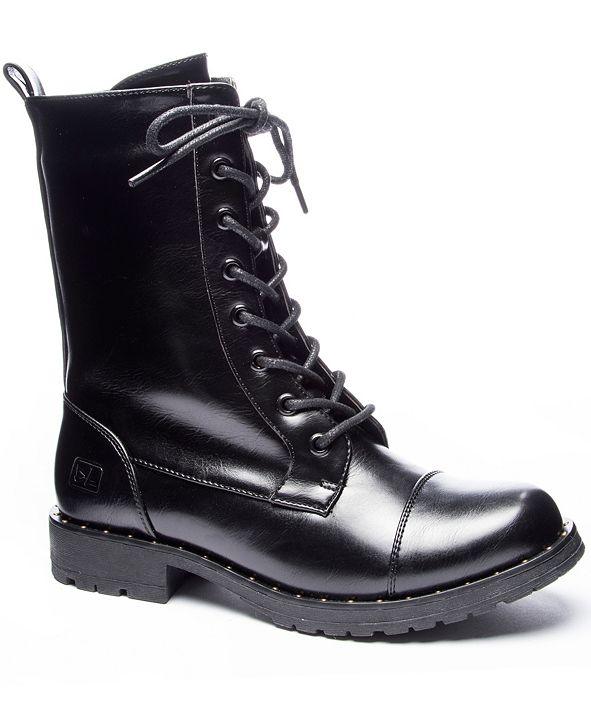 Dirty Laundry Radix Lace Up Boots