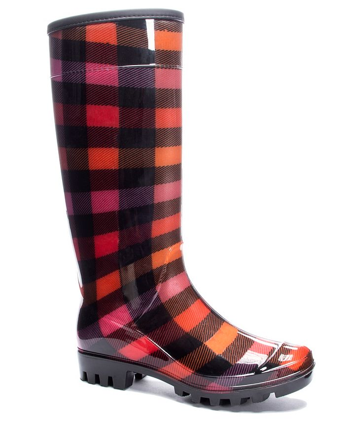 Dirty Laundry - Ring Leader Plaid Boot