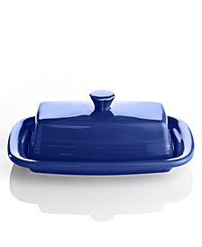 Fiesta Cobalt XL Covered Butter Dish