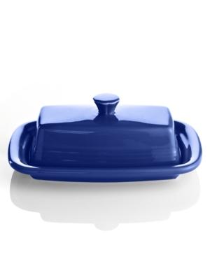 Fiesta Cobalt Xl Covered Butter Dish