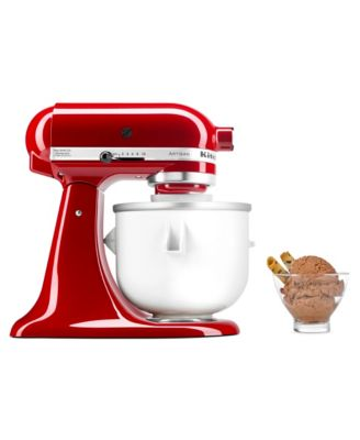 Ice Cream Maker Stand Mixer Attachment KICA0WH