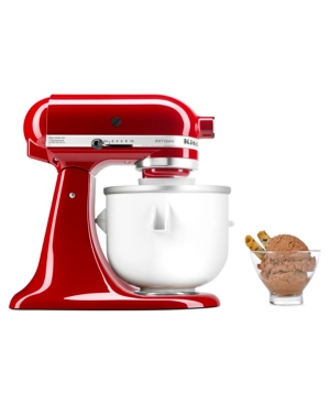 KitchenAid Ice Cream Maker Stand Mixer Attachment KICA0WH