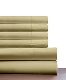 410 Thread Count 6 Piece King Sheet Set