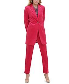 Topper Jacket, Printed Top & Pants